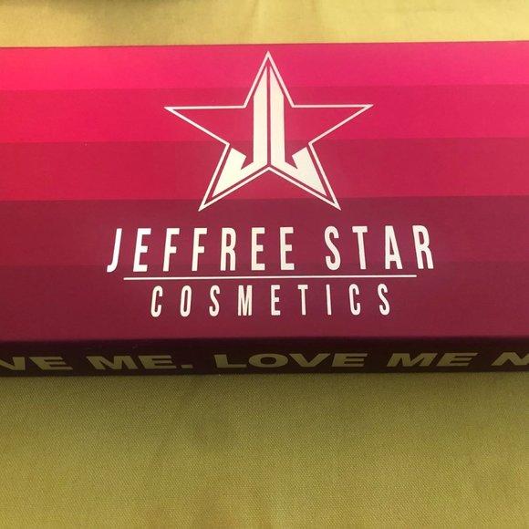 Jefree Star Mini Red & Pink Velour Lipstick Set